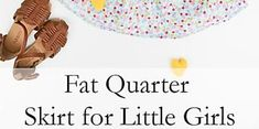 Fat Quarter Skirt for Little Girls Burp Cloth Patterns, Baby Patterns, Sewing Patterns, Baby Sewing, Free Sewing, Fat Quarter Projects, What Image, Project Free, Baby Burp Cloths