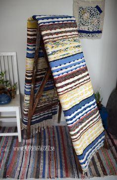 Selma RUG - 96 cm x  265 cm - Cotton - Vintage Swedish handmade rag rug