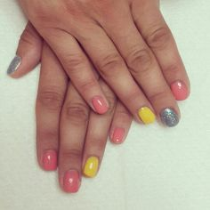 Nails multicolor