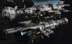 "USR ""Assassin"" - Fractured Space, Hans Palm on ArtStation at https://www.artstation.com/artwork/wr08Z"