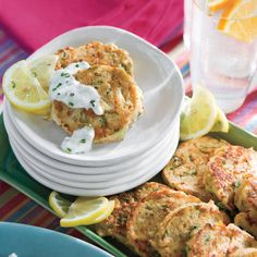 Mini Crab Cakes - Quick and Easy Appetizer Recipes - Southern Living