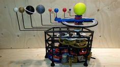 3ders.org - This award-winning 3D printed motorized orrery is totally mind-blowing | 3D Printer News & 3D Printing News