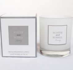 Scottie and Russell candle. Five beautiful scents. Perfect gift for Valentines Day. Gift Store, Scottie, Home Gifts, Valentine Day Gifts, Baby Gifts, Unique Gifts, Fragrance, Place Card Holders, Candles