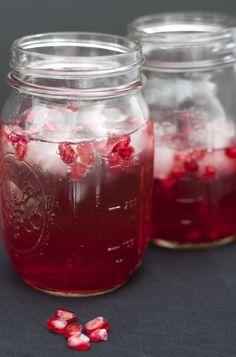 Sparkling Pomegranate Champagne Drink