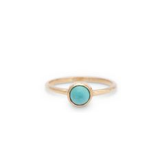 Turquoise Solitaire