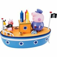 Buy Peppa Pig Grandpa Pig's Bathtime Boat at Argos.co.uk - Your Online Shop for Baby bath toys and books, Peppa Pig toys.