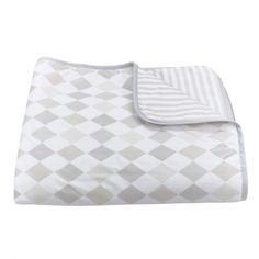 Harlequin Dusk Play Blanket/Quilt