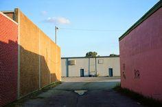 William Egglestone Motivos cotidianos Bloques/ cubos uso del color