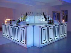 Custom Bars // Ronen Rental // Event Decor // Event Furniture Rental // Miami