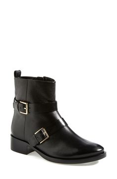 Super chic and sleek leather moto boot | Tory Burch