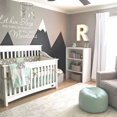 We Ve Rounded Up 40 Of Our Favorite Woodland Nurseries And Trust Us They Are Boy Baby Room Themesbaby