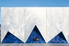 Fassade aus dem Drucker - EU-Gebäude in Amsterdam