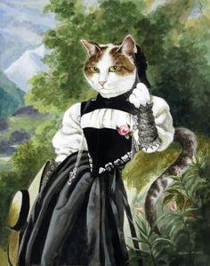 A SWISS GIRL FROM INTERLAKEN (WINTERHALTER) by SUSAN HERBERT