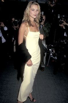 Kate Moss in Calvin Klein - 1995 Met Gala