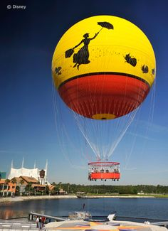 Characters in Flight balloon ride has reopened! Hope to do this while down there....
