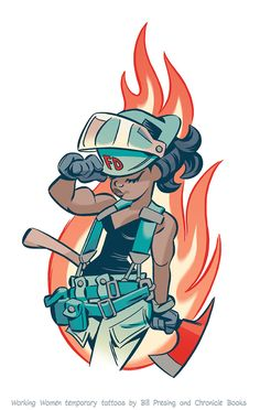 Firefighter #2 by bpresing.deviantart.com on @DeviantArt