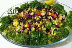 Brokoli Salatası (Yedikçe Yediren) Tarifi nasıl yapılır? 379 kişinin defterindeki bu tarifin resimli anlatımı ve deneyenlerin fotoğrafları burada. Yazar: Samiye Dilmac