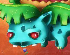 "Check out new work on my @Behance portfolio: ""#002 Ivysaur"" http://be.net/gallery/52979189/002-Ivysaur"