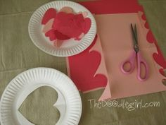 Valentine Wreath...going to make this w/ Kasey's Pre-K class <3