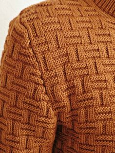 View album on Yandex. Fair Isle Knitting Patterns, Knitting Stiches, Sweater Knitting Patterns, Knitting Designs, Cable Knitting, Mens Knit Sweater Pattern, Gents Sweater, Knitting Daily, Aprons Vintage