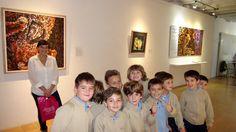 Los alumnos de 2º, 3º y 4º #PrimariaISP en la exposición permanente de arqueología del MUCBE.  www.colegiosips.com