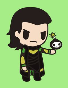 "Happy Lokiday!!! It's almost Easter! Today I push the envelope with items connected with well, ""the other Viking religion"". (Tokidoki Loki by TokiDokiLoki.deviantart.com on @deviantART)"