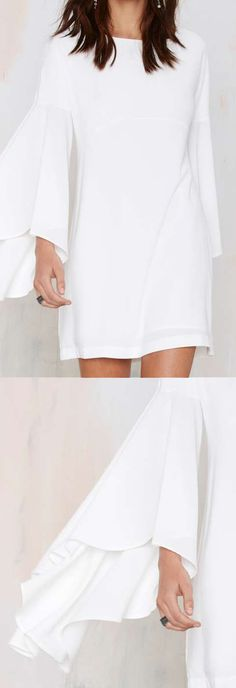 Crepe Dress - Ivory