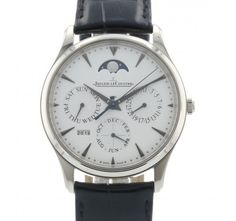 Used and Certified Jaeger LeCoultre Master Ultra Thin Perpetual Calendar Q1303520 / 176.3.21.S ERP32858
