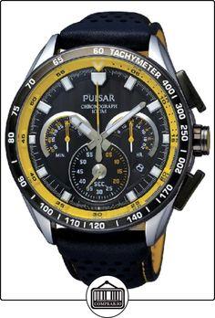 Pulsar PU2007X1 - Reloj de Caballero movimiento de cuarzo con correa de piel de  ✿ Relojes para hombre - (Gama media/alta) ✿