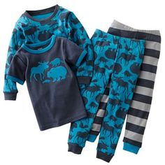 Carter's Wilderness Animals Pajama Set - Toddler