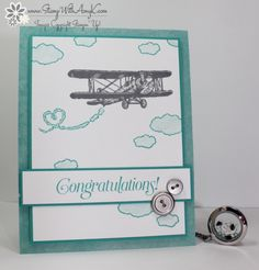 Stampin' Up! Sky is the Limit Congratulations