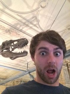 James Callender on Twitter: Hanging out with a few dinosaurs! #NHM