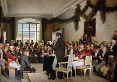 Oscar Arnold Wergeland: The National Assembly at Eidsvoll passing the Norwegian Constitution in 1814 History Of Norway, Norwegian People, Constitution Day, National Art, Oscars, The World's Greatest, Fine Art America, Scandinavian, Dolores Park