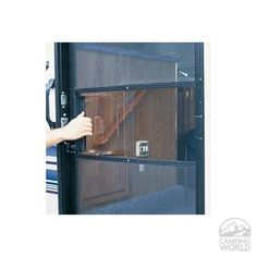 Clear Screen Door Slide Set --  have this.  Have to modify it to fit.