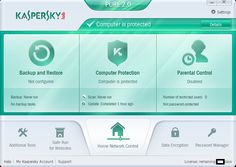 The best thing about Kaspersky Pure 2.0 Total Security is that, along with 'Backup and Restore' feature, you have 'Parental Control' which is very handy. Once enabled, this features allows you to set what websites you or others can access from your computer.