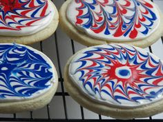 Red Couch Recipes: Fireworks Cookies
