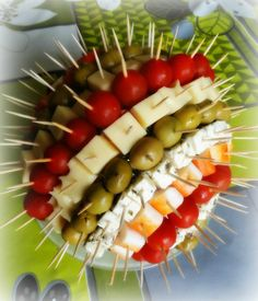 Hérisson Apéritif Pots, Food Decoration, Quiches, Fruit Salad, Buffet, Picnic, Unique, Fruits And Veggies, Homemade