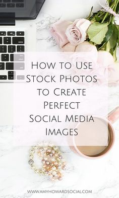 Make sure your social media images are up to par with these stock photos from Haute Chocolate; how to use stock photos to create perfect social media images: