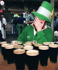 1. Ireland ranks sixth worldwide in the average consumption of beer per person. Before the 1990s Ireland had a low rank in consumption, however now statistics show that the average Irish person drinks about 100 litres of beer each year! 2. Ireland has the fourth largest stadium in Europe. Croke…