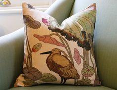 GP & J Baker Nympheus 20 inch Pillow Cushion Cover by Aurelia6311, $55.00