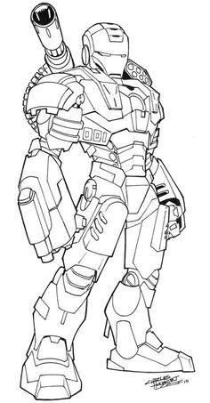 War Machine cs is part of Color drawing art - War Machine A little companion piece for I made yesterday to go with Iron Man War Machine cs Transformers Coloring Pages, Avengers Coloring Pages, Superhero Coloring Pages, Spiderman Coloring, Marvel Coloring, Cartoon Coloring Pages, Coloring Book Pages, Marvel Drawings, Cartoon Drawings