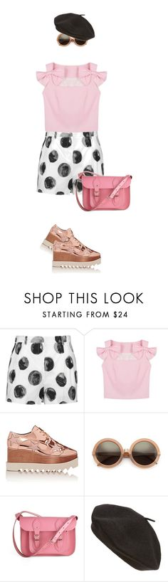 """""""K_K38"""" by evava-c ❤ liked on Polyvore featuring Dolce&Gabbana, STELLA McCARTNEY, Wildfox, The Cambridge Satchel Company and Parkhurst"""