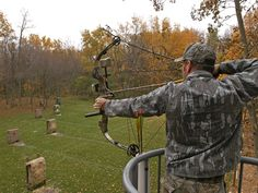 Becoming proficient in archery. Ranges at Elm Creek and Carver Park Reserve, MN. Lessons available through the Outdoor Recreation School. 3d Archery, Archery Range, Archery Tips, Archery Hunting, Deer Hunting Tips, Bow Hunting, Hunting Stuff, 3d Targets, Archery Equipment