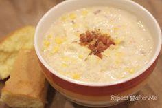 Repeat Crafter Me: Crock Pot Corn Chowder
