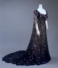 Extraordinary evening gown, 1902. by .Vicky.Toria.