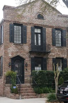 Exterior Window Trim Brick design trend: black window trim | bricks, house and exterior