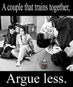 Couples that train BJJ outlast couples that don't!!