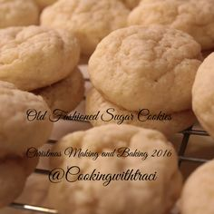 Old Fashioned Sugar Cookies - Christmas Making and Baking 2016