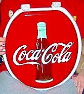 Coca-Cola toilet lid...charming!