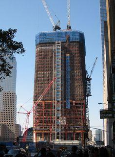 """#  MANHATTAN # """"One World Trade Center"""".  Outubro/2010                       New York City, USA."""